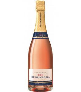 """De Saint-Gall """"Brut Rosé"""" Champagne"""