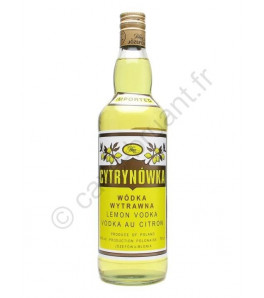 Cytrynowka lemon vodka Pologne