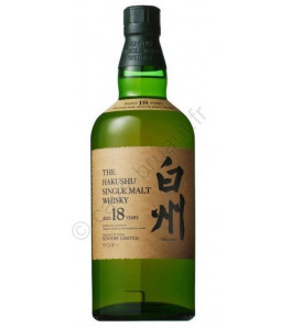 The Hakushu 18 ans single malt