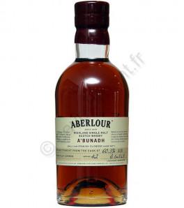 Aberlour A'bunadh cask strengh whisky single Speyside 59.7% - Batch 44