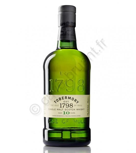 Tobermory 10 ans Whisky Single Malt Mull
