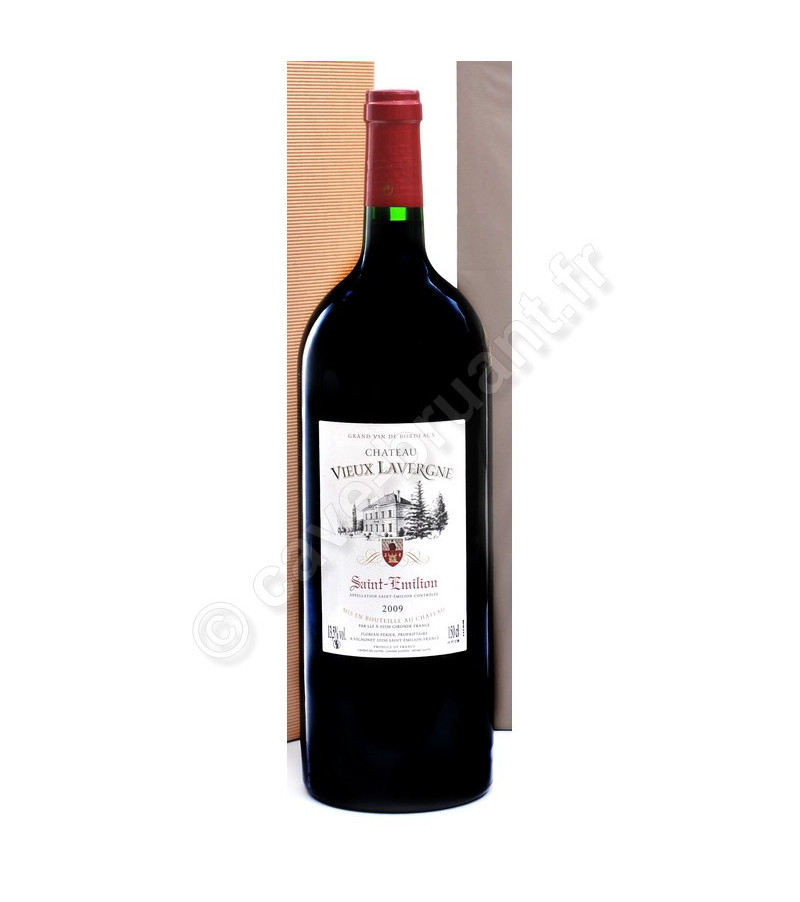 saint emilion vin rouge ch teau vieux lavergne 2009 magnum. Black Bedroom Furniture Sets. Home Design Ideas