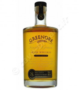 Greenore 8 ans Single Grain Irish Whiskey