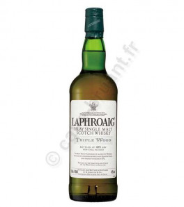 Laphroaig triple wood Whisky Single Islay
