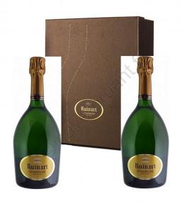 Ruinart Brut Champagne Coffret 2 bouteilles