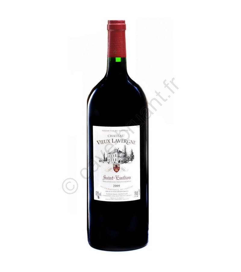 saint emilion vin rouge ch teau vieux lavergne 2009 magnum. Black Bedroom Furniture Sets. Home Design Ideas
