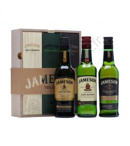 Jameson Trilogy Coffret 3x20cl Irish Whiskey