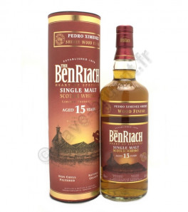 Benriach 15ans Pedro Ximenez Sherry Wood Finish Whisky