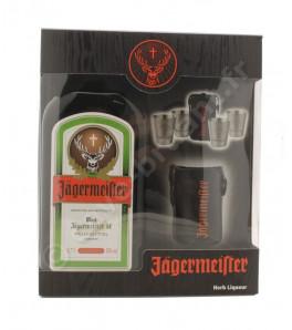 Coffret Jagermeister + 4 shots