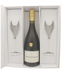Coffret Champagne Royal Reserve + 2 flutes