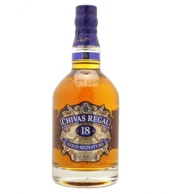 Chivas regal 18 ans scotch whisky blended