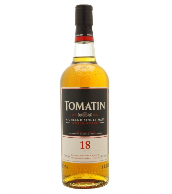 Tomatin 18 ans Single Highland Malt Whisky
