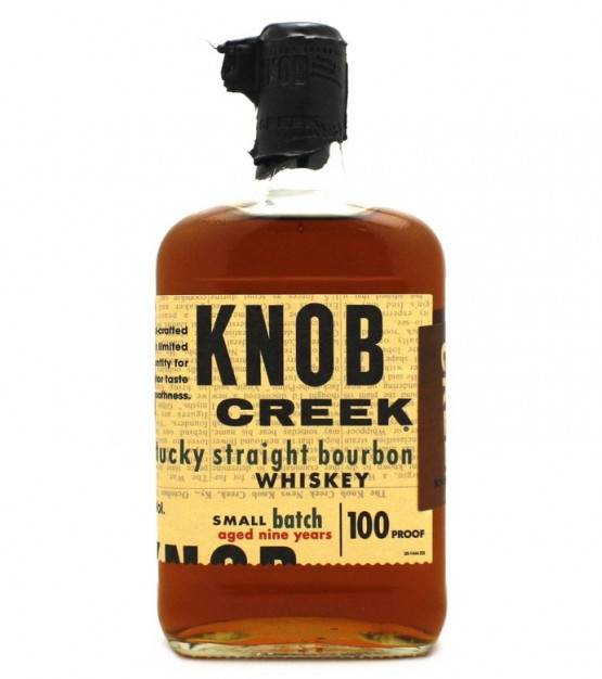 Knob Creek 9 ans whisky Bourbon