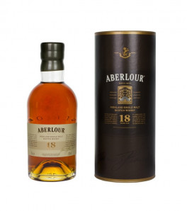 Aberlour 18 ans whisky single speyside Etui
