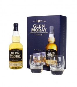 Coffret Glen Moray Classic 2 verres