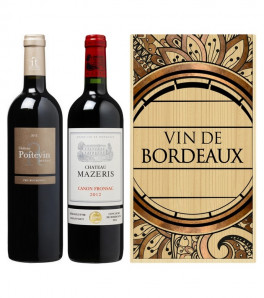 Caisse Bois Bordeaux Passion