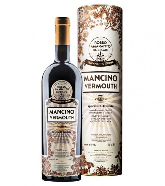 Mancino Vecchio Rosso Amaranto Barricato Vermouth Etui