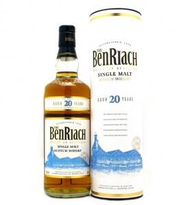 Benriach 20 ans Single Malt Whisky Etui