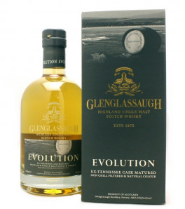 Glenglassaugh Evolution Highland Single Malt Etui