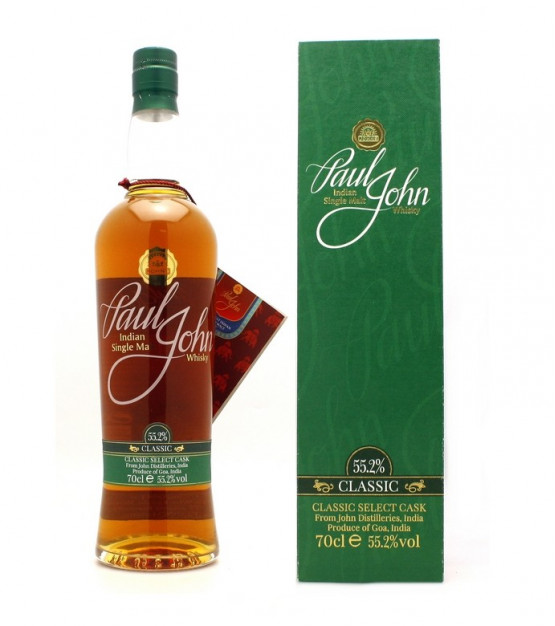 Paul John Classic Select Cask Indian Single Malt