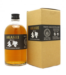 Akashi Meïsei White Oak Japanese Blended Whisky Etui