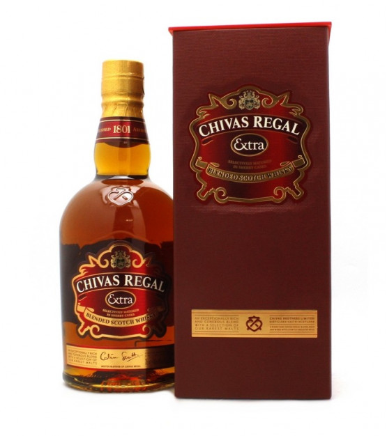 Chivas Regal Extra Blended Scotch Whisky Etui