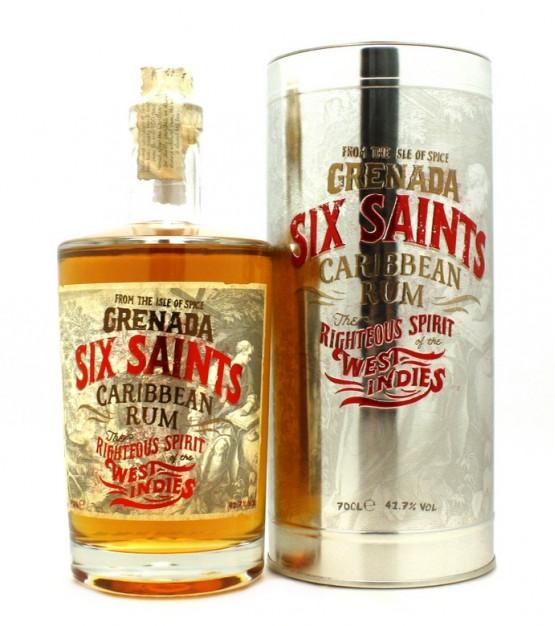 Six Saints Carribean Rum Etui