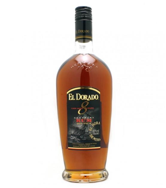 El Dorado cask aged 8 years Demerara Rum