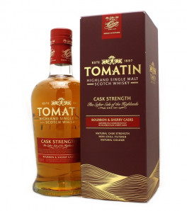 Tomatin Cask Strenght Highland Single Malt Etui