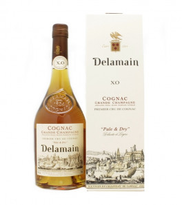 Delamain XO Pale and Dry Cognac Etui