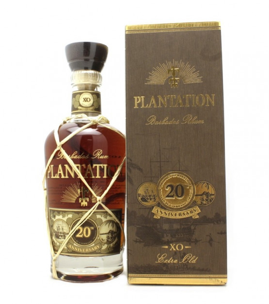 Plantation 20th Anniversary XO Barbados Extra Old Rum Etui