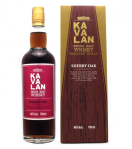 Kavalan Sherry Oak Single Malt Whisky Etui