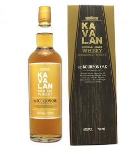 Kavalan ex-Bourbon Oak Single Malt Whisky Etui