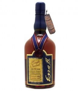 Ezra Brooks Single Barrel Aged 12 Years Bourbon Whiskey