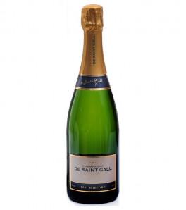 """De Saint-Gall """"Brut Sélection"""" Champagne"""