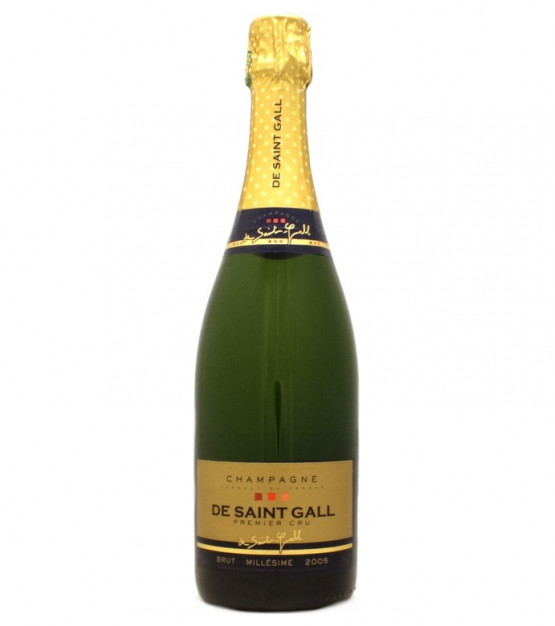 "De Saint-Gall ""Brut 2005 Premier Cru"" Champagne"