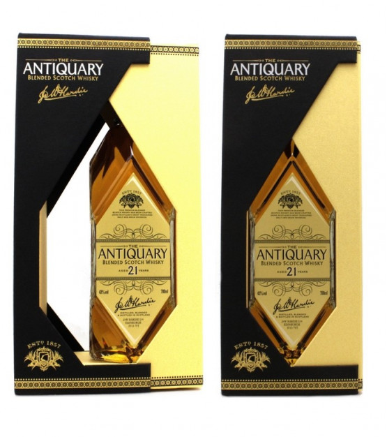 The Antiquary 21 ans Blended Scotch Whisky