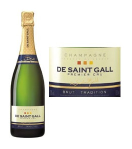 De Saint-Gall Brut Tradition Premier Cru Champagne 37.50 cl