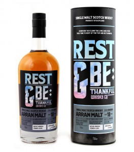 Arran Malt 1998 18 ans Rest & Be Thankful Company Whisky Single Malt Etui