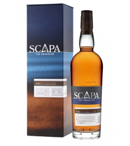 Scapa Glansa The Orcadian Single Malt Peated Cask Finish avec coffret