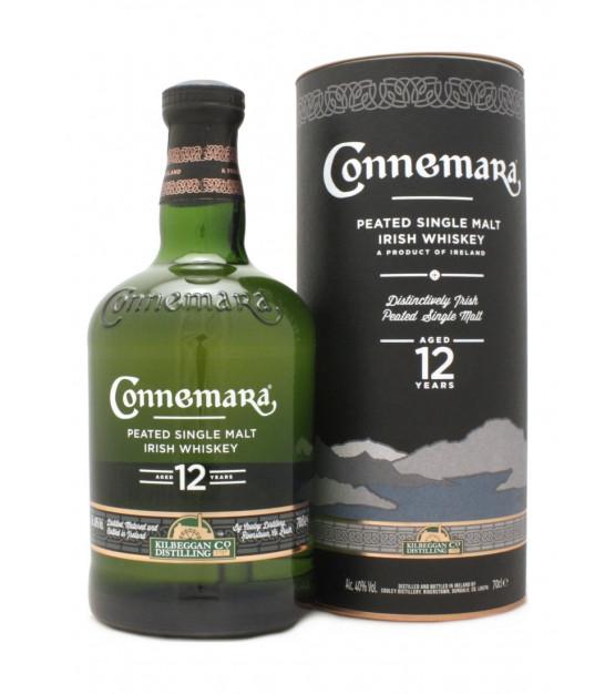 Connemara 12 ans Peated Single Irish Malt Coffret