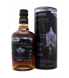 Edradour 15 ans The Fairy Flag Am Bratach Sith Highland Single Malt Whisky avec son coffret