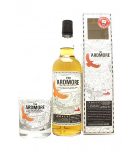 Coffret Ardmore Legacy avec 1 verre Highland Single Malt Whisky