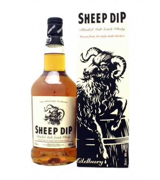 Sheep Dip Blended Malt Scotch Whisky - The Original Oldbury Etui