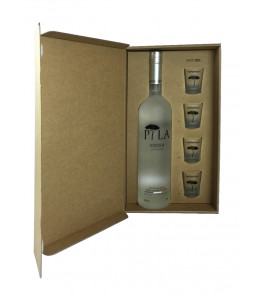 Pyla Excellium Vodka Coffret 4 shooters