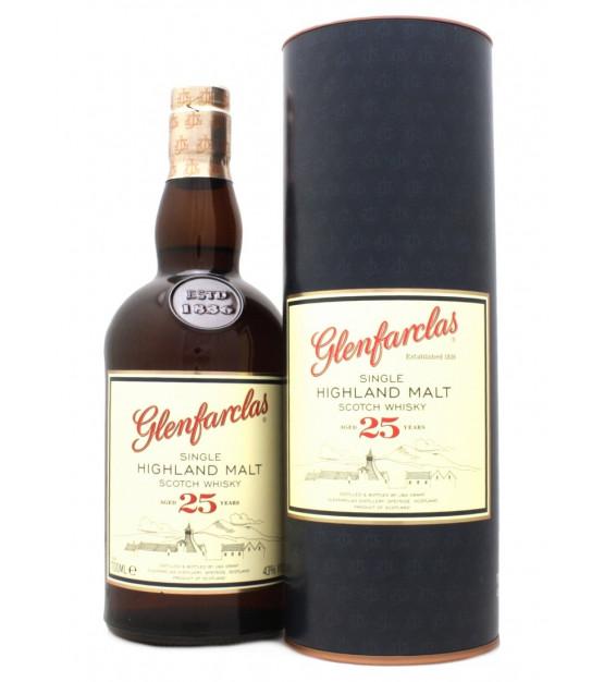 Glenfarclas 25 ans Single Highland Malt Whisky Etui