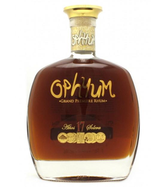 Ophyum 17 ans Solera Grand Premiere Rhum