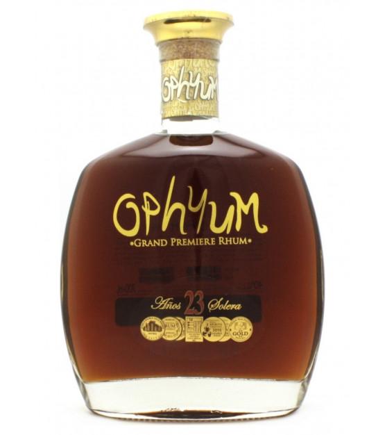 Ophyum 23 ans Solera Grand Premiere Rhum