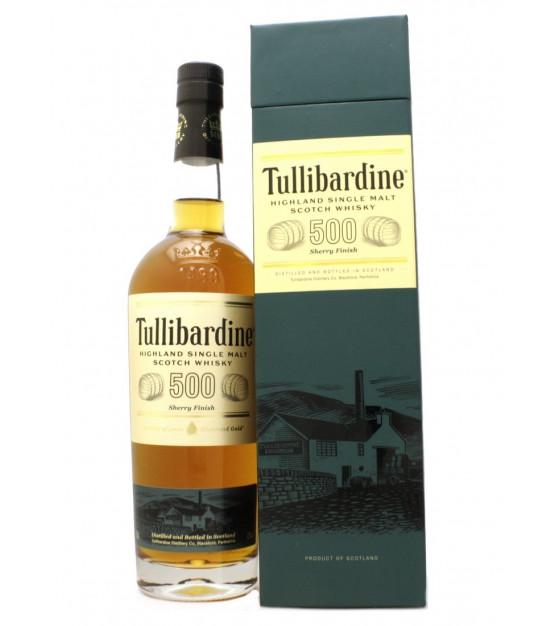 Tullibardine 500 Sherry Finish Highland Single Malt Whisky Etui