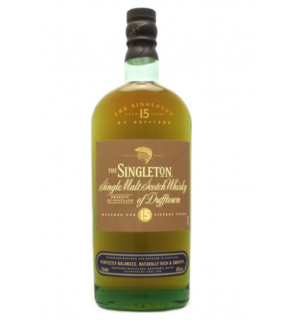 The Singleton of Dufftown 15 ans Single Malt Whisky